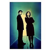 X-Files. Размер: 20 х 30 см